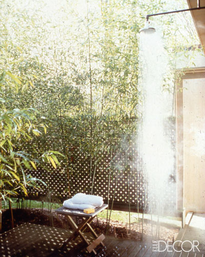 Outdoor Showers The Perfect Bath