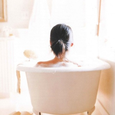 There is nothing quite as relaxing as a tub full of warm water and fragrant soap.