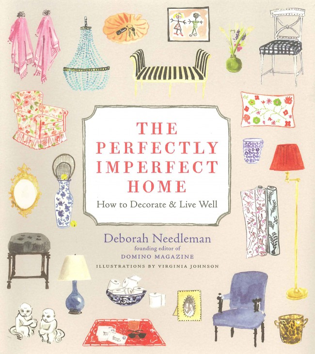 The charming cover of THE PERFECTLY IMPERFECT HOME by Deborah Needleman.