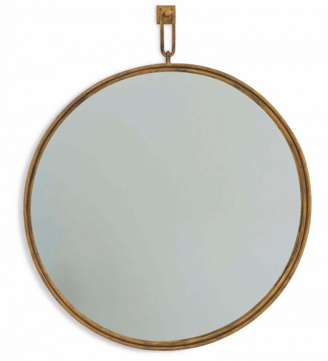 Hand Beaten Mirror by Soane