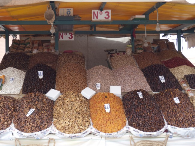Nuts, spices, dates, oranges; so much to see, smell, touch, photograph and experience.