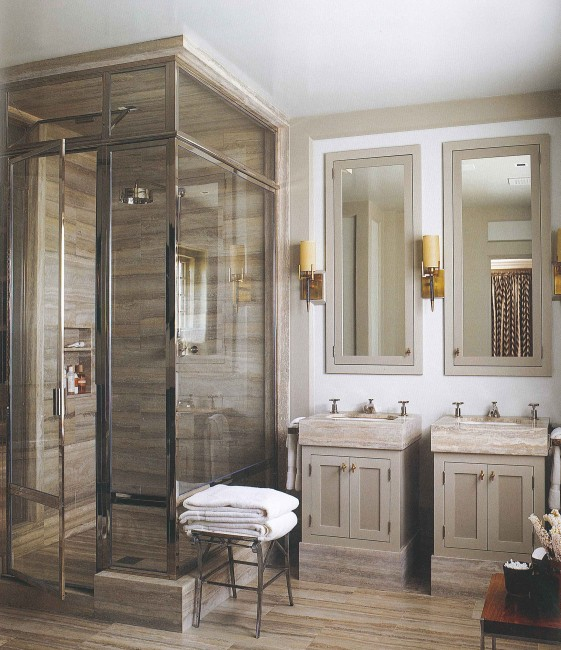 Books steven gambrel time and place the perfect bath for Perfect master bathroom