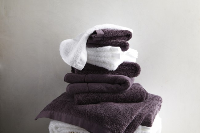 Cumulus towels are soft and thick, and garment dyed. The palette is deep and rich. There are linen shower curtains to coordinate with some of the color in s beautiful linen.