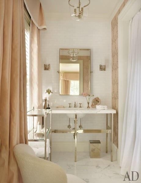 Bath furniture the perfect bath for Architectural digest bathroom designs