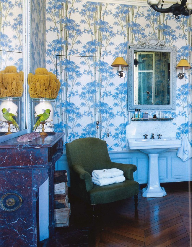 As seen in World of Interiors, September