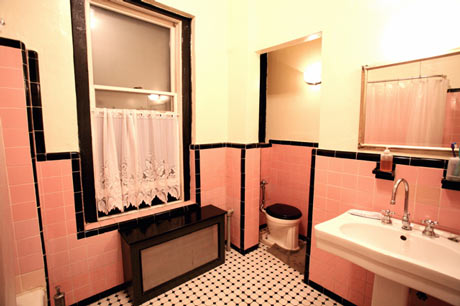 Black Tile Bathroom June 2017 The Perfect Bath Vine Pink