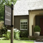 The charming house called Westbrook Studio, is located in a lovely neighborhood of well maintained small houses in the Buckhead section of Atlanta. It is a welcoming environment for clients and staff.