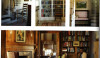Interiors of a summer retreat by James Carter of Birmingham, AL.