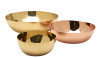 Shiny brass and copper bowls are like jewelry -- and useful, too.