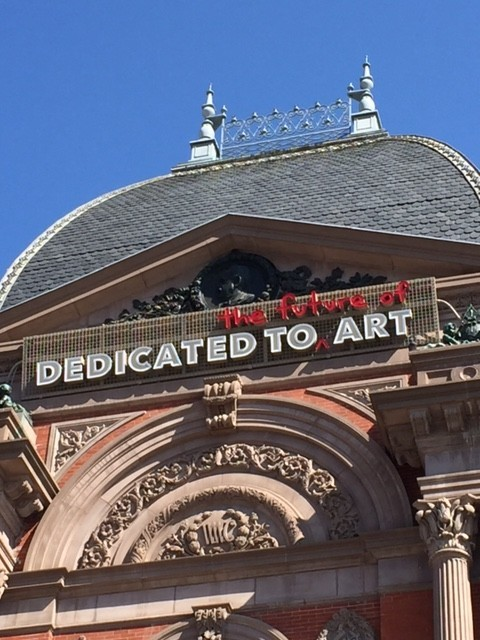 The front of the Renwick in  all of its architectural splendor.